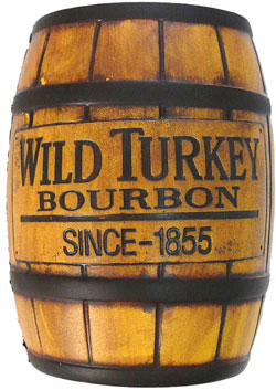 Whiskey Barrel Poker Table Brand One Promotions - Wild Turkey